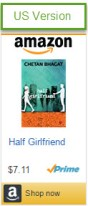half girlfriend movie_arjun_shradha_release date_US_book_buy