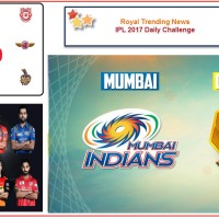 IPL 2017 – Daily Challenge : Match 16:  Mumbai Indians Vs Gujarat Lions