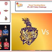 IPL 2017 – Daily Challenge : Match 23:  Kolkata Knight Riders Vs Gujarat Lions