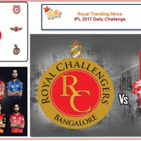 IPL 2017 – Daily Challenge : Match 43:  Royal Challengers Bangalore Vs Kings XI Punjab