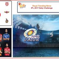 IPL 2017 – Daily Challenge : Qualifier 2: Kolkata Knight Riders Vs  Mumbai Indians