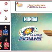 IPL 2017 – Daily Challenge : Final: Rising Pune Supergiant Vs Mumbai Indians