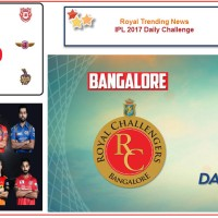 IPL 2017 – Daily Challenge : Match 5: Royal Challengers Bangalore Vs Delhi Daredevils