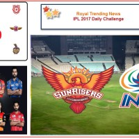 IPL 2017 – Daily Challenge : Match 48:  Sunrisers Hyderabad Vs Mumbai Indians