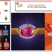 IPL 2017 – Daily Challenge : Match 44:  Sunrisers Hyderabad Vs Rising Pune Supergiant