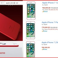 iPhone 7 RED launched in India; Amazon starts Pre-Order