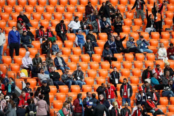 empty seats controversy fifa investigation