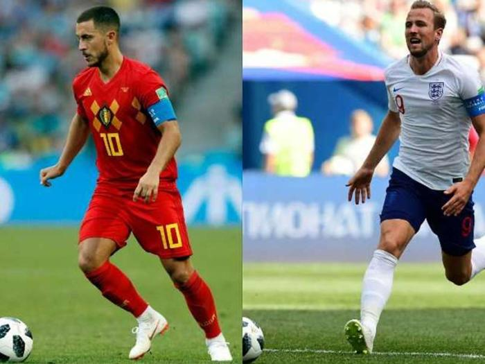 Belgium and England has best chances to reach quarter final round of 2018 FIFA world cup