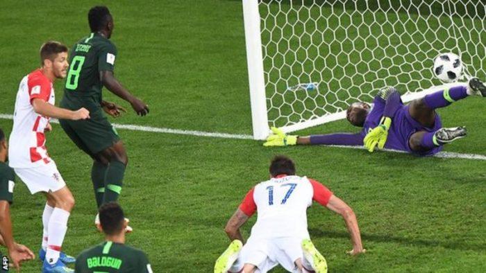 etebo own goal nigeria croatia world cup
