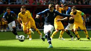 giezman score france australia match
