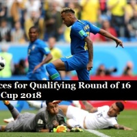 What is Brazil Chances for qualifying into Pre-Quarter (Round of 16) after Switzerland Win over Serbia - FIFA World cup 2018 Group E standings