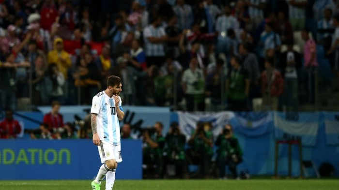 messi argentina defeat croatia fifa world cup 2018