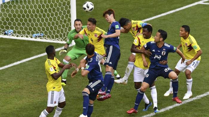 Osako scored 2nd goal for Japan against colombia for ensuring a historic win in World Cup