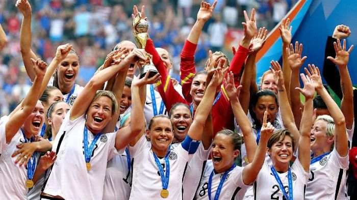Defending champions USA is the number one title contender for the 2019 FIFA womens world cupat France