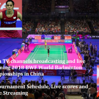 Which TV channels broadcasting and live streaming 2018 BWF World Badminton Championships in China - Full tournament Schedule, Live scores and Online Streaming Details