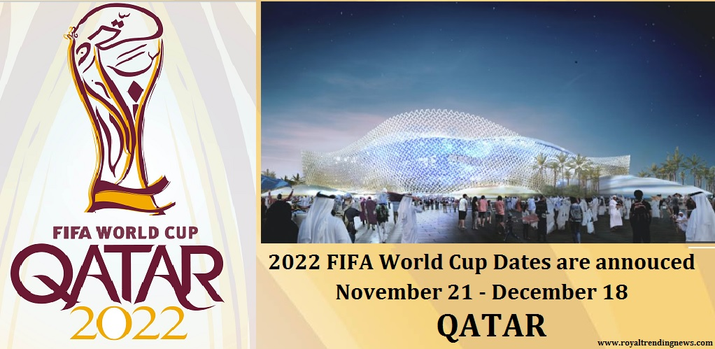 2022 FIFA World Cup, Qatar: Dates are announced – Full ...