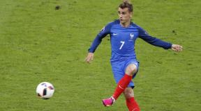 Griezmann hit the second goal in the final match for France converting the penalty kick