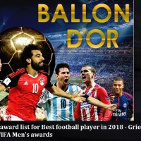 FIFA announced Ballon D' Or award list for Best football player in 2018 - Antoine Griezmann, Cristiano Ronaldo, Luka Modric, Didier Deschamps, Zinédine Zidane chances of winning the Best FIFA Men's awards