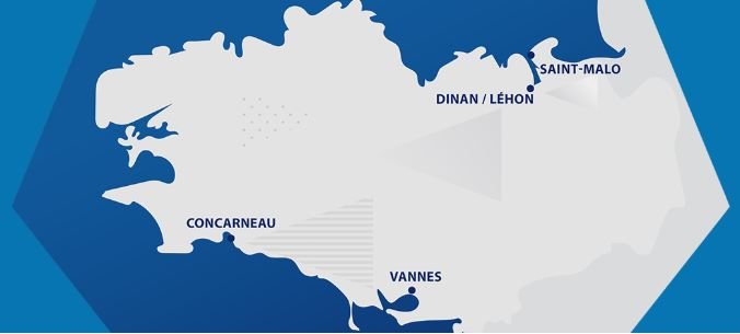 France Cities Map hosting the FIFA U 20 World cup tournament 2018 - Full list