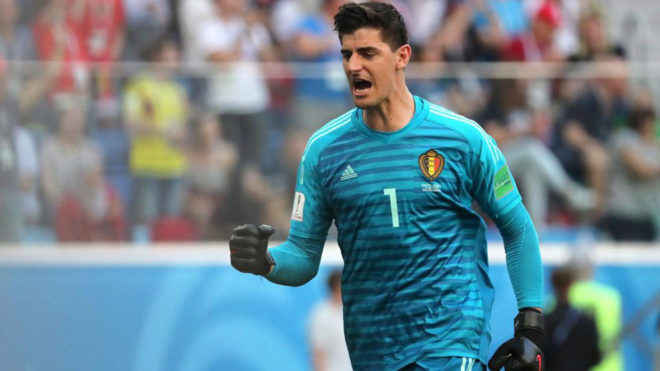 Belgium goal keeper Courtois won the golden glove award at 2018 FIFA world cup Russia