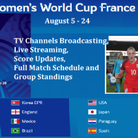 FIFA Under 20 (U 20) Womens World Cup France 2018 -  TV Channels Broadcasting, Live Streaming, Full Match Schedule and Group Standings
