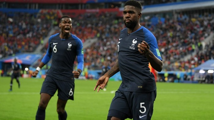 Samuel Umtiti goals ensures France final berth in 2018 FIFA world cup, beating Belgium 1 - 0