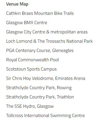 Venue Details of 2018 European Championships - Glasgow and Berlin