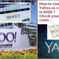How to claim $358 free from Yahoo as compensation amount in 2020 ? Check your eligibility on Yahoo settlement in data breach (2012-2016), Claim filling steps