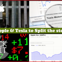 Stock Market : Which Stocks to watch this week at NASDAQ (NYSE) ? Apple, Tesla to split up and are the favourites to buy